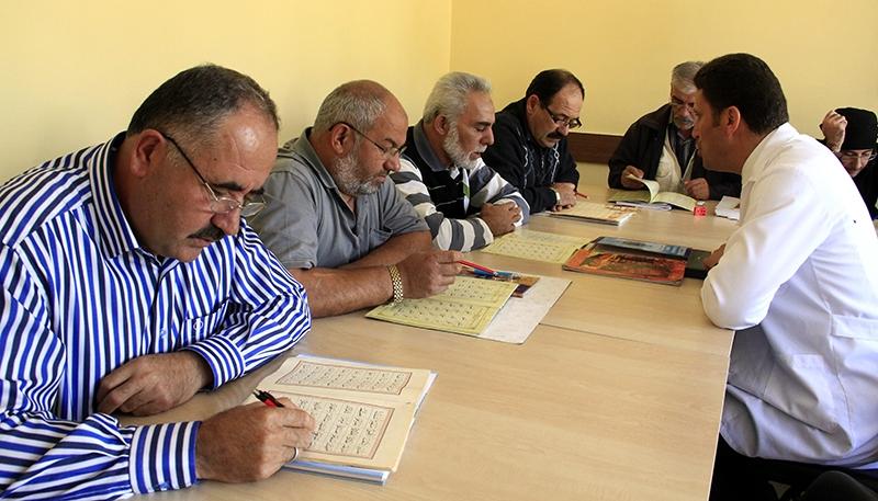 Hacdan dönüp Kur'an kursuna gidiyorlar 4