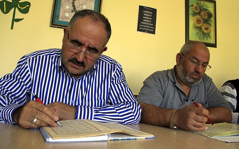 Hacdan dönüp Kur'an kursuna gidiyorlar 5