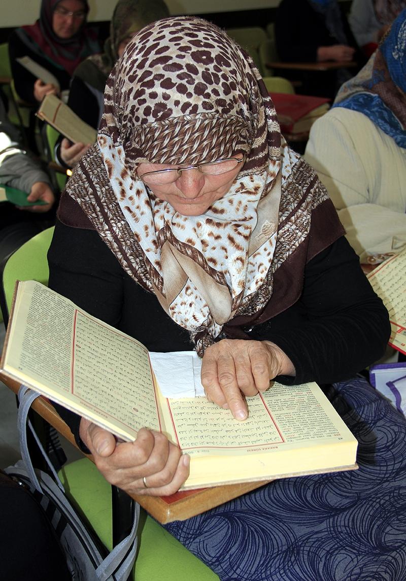 Hacdan dönüp Kur'an kursuna gidiyorlar 6