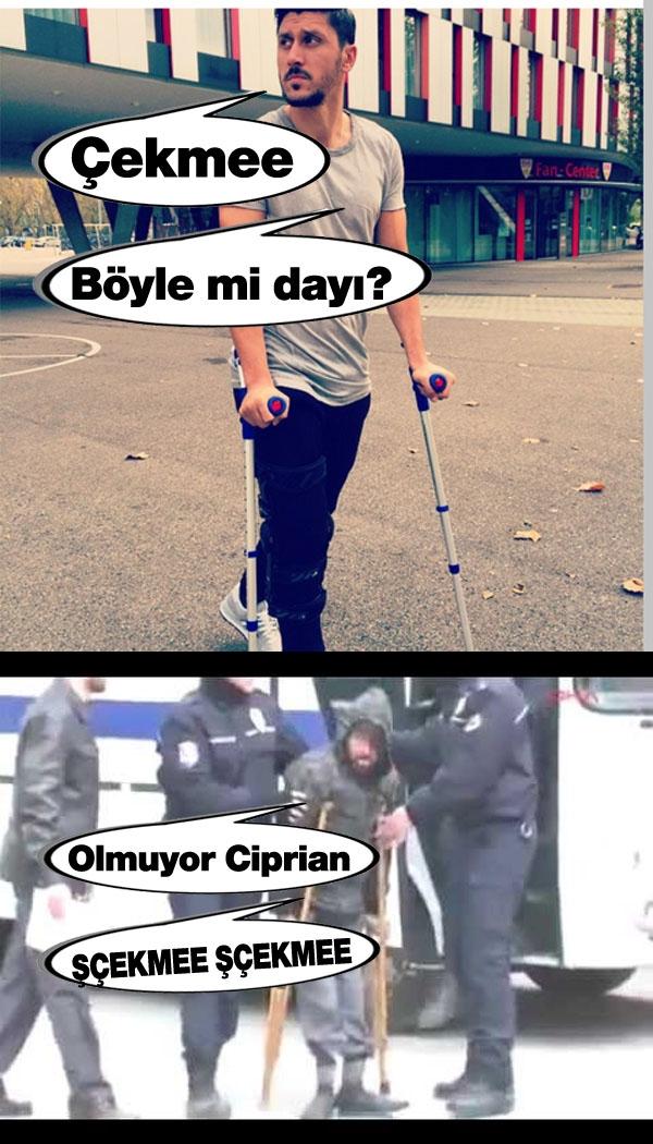 Kasımpaşa-Konyaspor maçı sonrası capsleri 14
