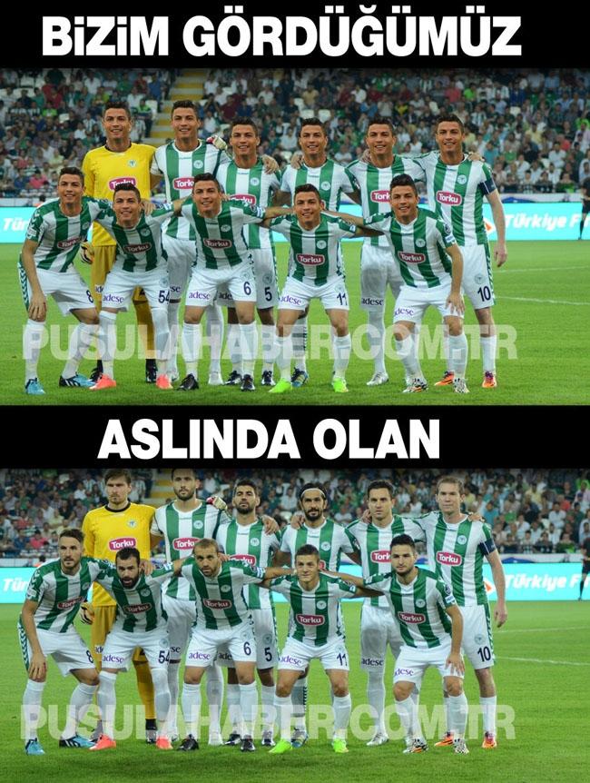 Kasımpaşa-Konyaspor maçı sonrası capsleri 4