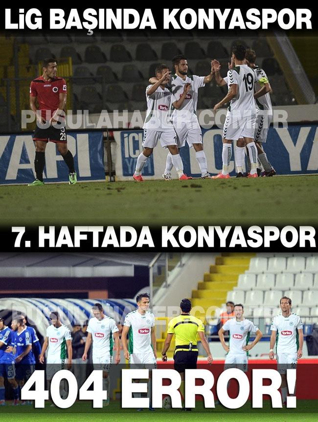 Kasımpaşa-Konyaspor maçı sonrası capsleri 8