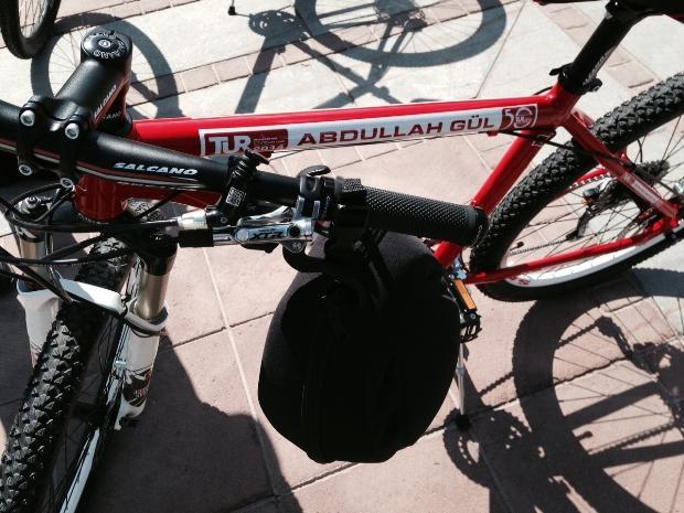 Cumhurbaşkanı Abdullah Gül bisiklete bindi 12