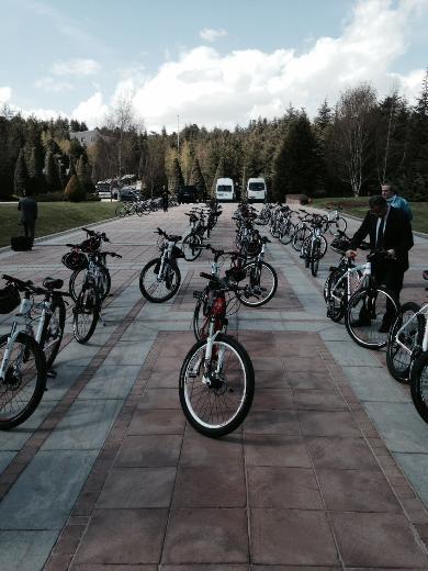 Cumhurbaşkanı Abdullah Gül bisiklete bindi 14