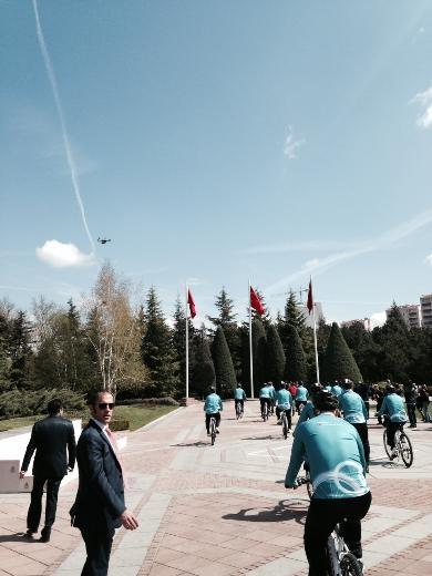 Cumhurbaşkanı Abdullah Gül bisiklete bindi 4