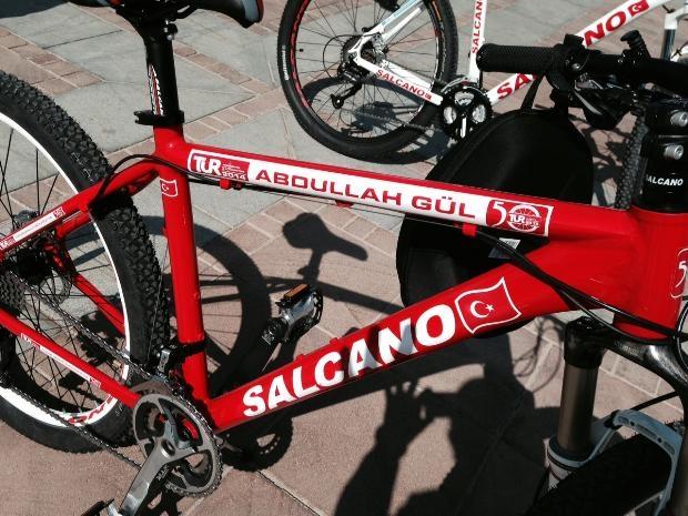 Cumhurbaşkanı Abdullah Gül bisiklete bindi 5