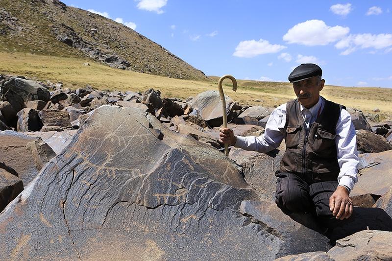 10 bin yıllık kaya resimleri kayıt altına alındı 18