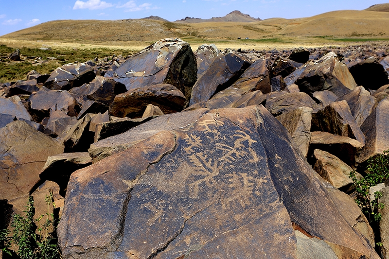10 bin yıllık kaya resimleri kayıt altına alındı 20