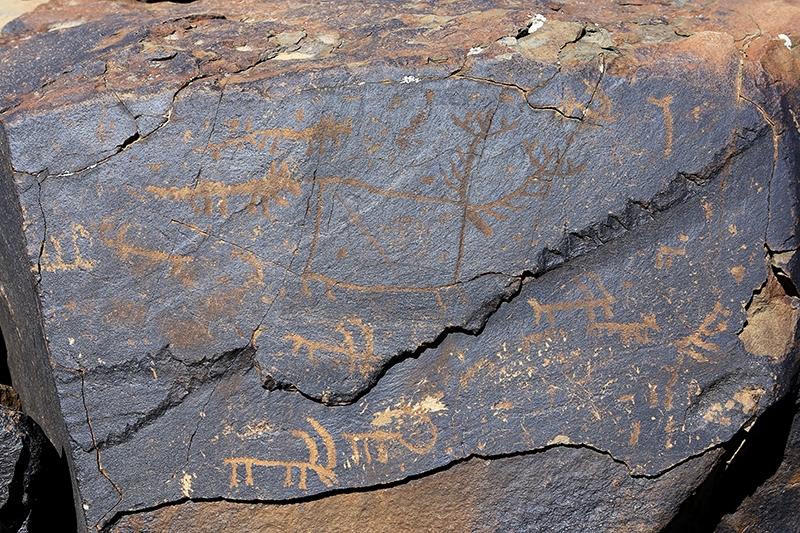 10 bin yıllık kaya resimleri kayıt altına alındı 22
