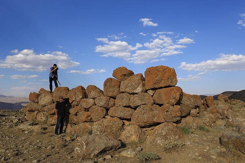 10 bin yıllık kaya resimleri kayıt altına alındı 35