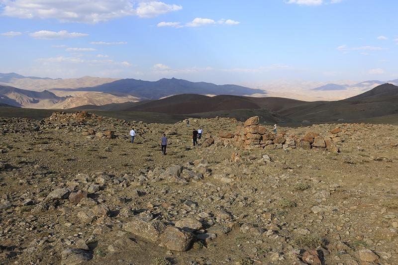 10 bin yıllık kaya resimleri kayıt altına alındı 36