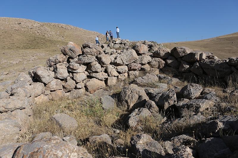 10 bin yıllık kaya resimleri kayıt altına alındı 38