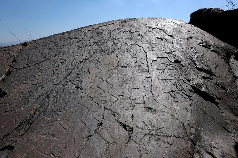 10 bin yıllık kaya resimleri kayıt altına alındı 8