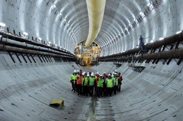Avrasya Tüneli'nin bitiş tarihi belli oldu 13