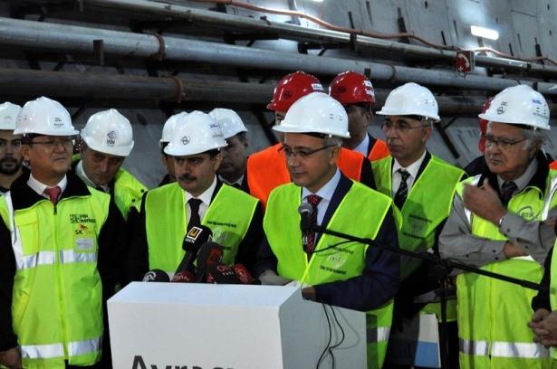 Avrasya Tüneli'nin bitiş tarihi belli oldu 16