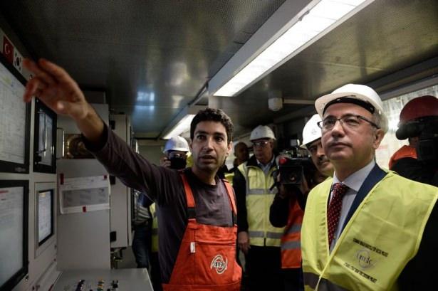Avrasya Tüneli'nin bitiş tarihi belli oldu 17