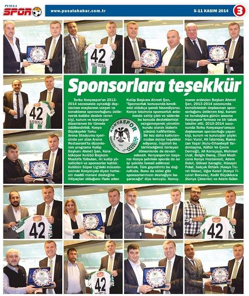 05.11.2014 Spor eki 3