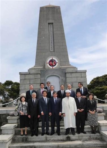 Dışişleri Bakanı Davutoğlu Japonya'da 1