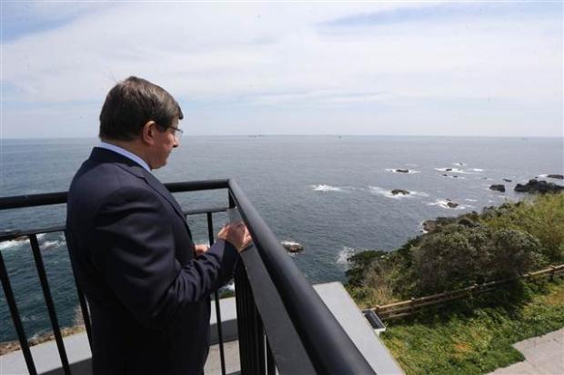 Dışişleri Bakanı Davutoğlu Japonya'da 4