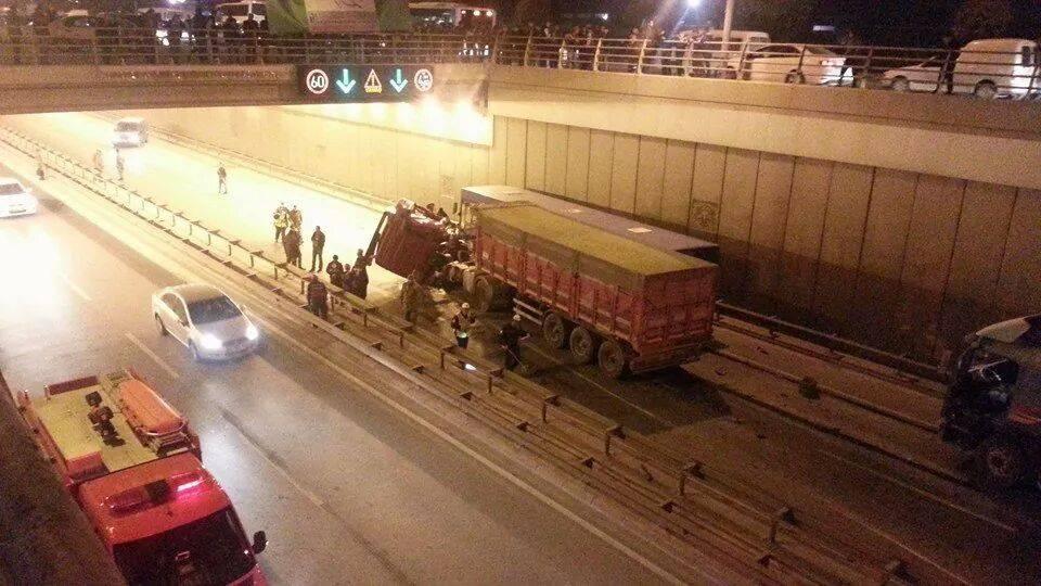 Ankara yolunda kaza 2