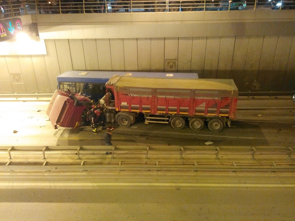 Ankara yolunda kaza 3
