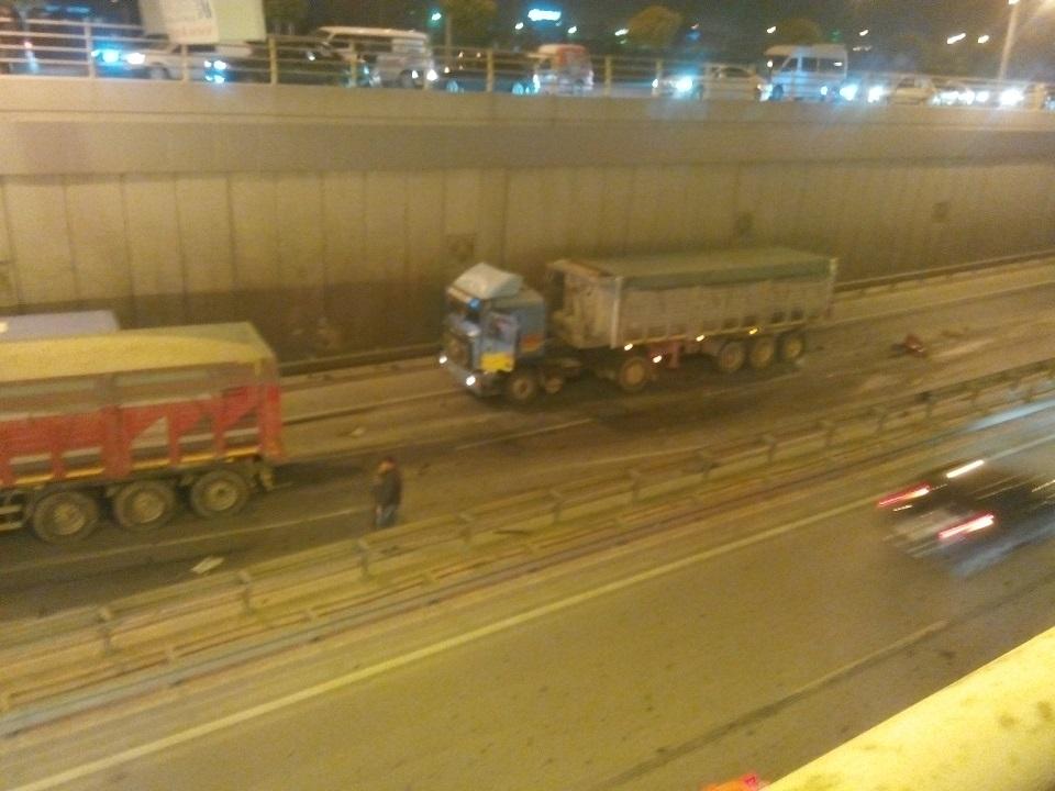 Ankara yolunda kaza 4
