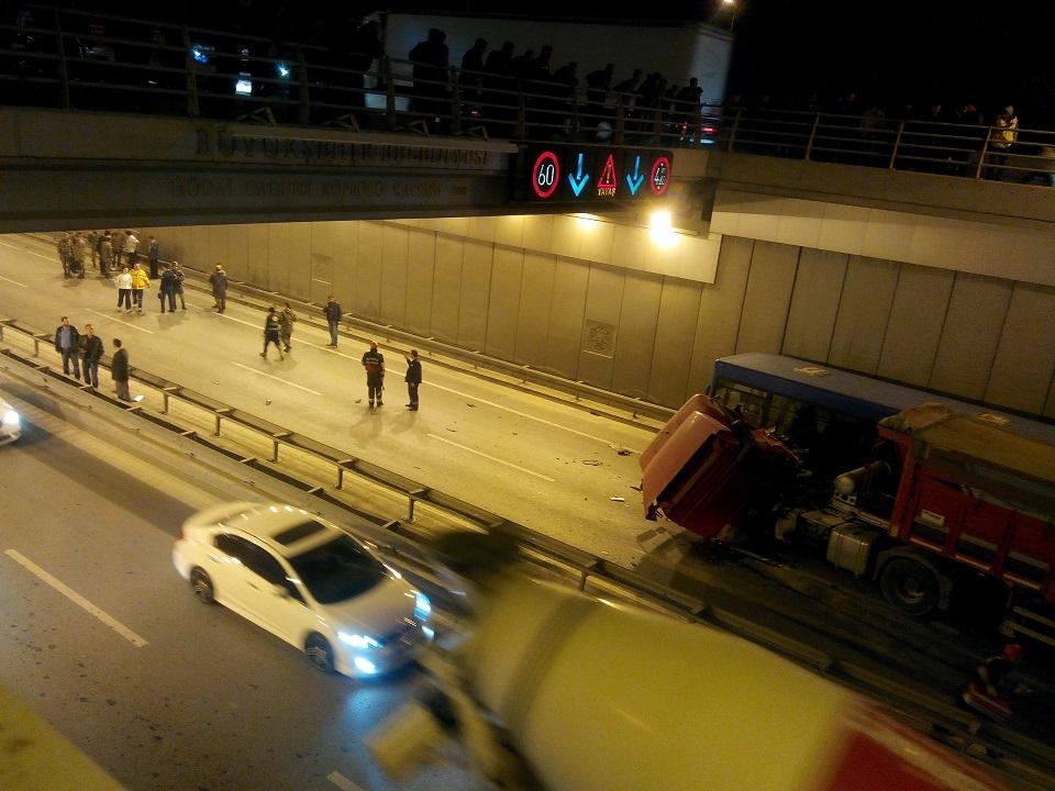 Ankara yolunda kaza 5