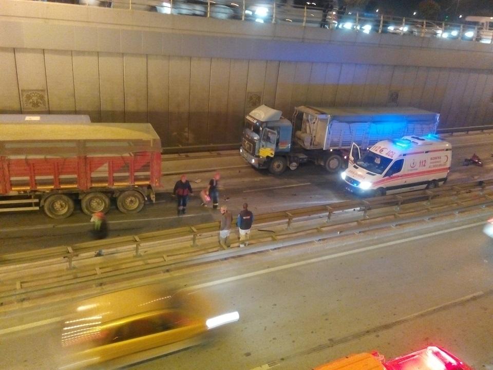 Ankara yolunda kaza 6