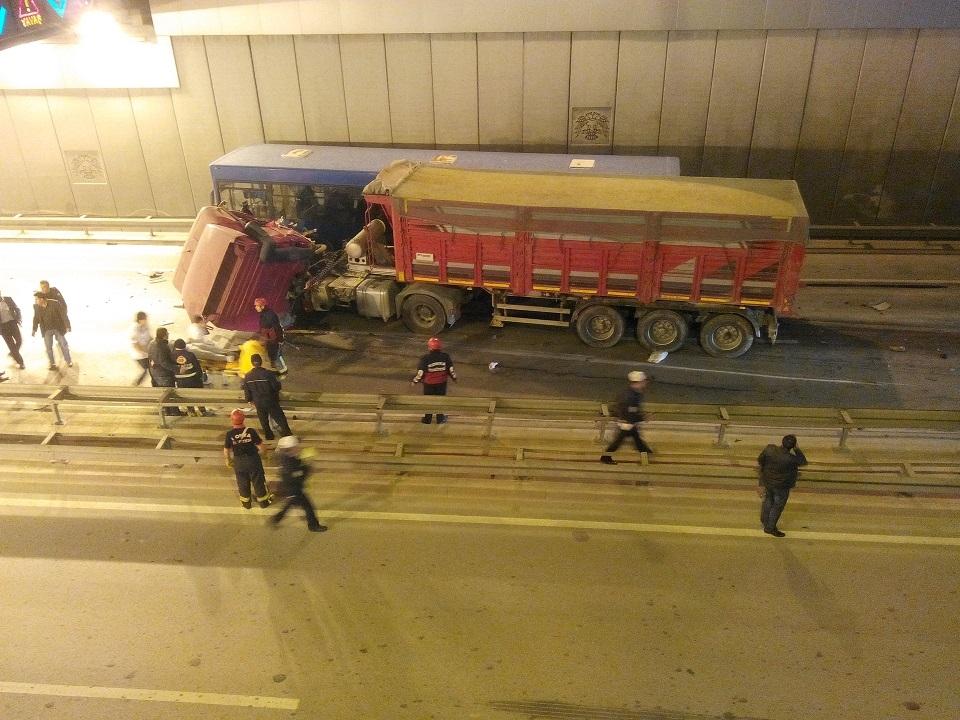 Ankara yolunda kaza 7