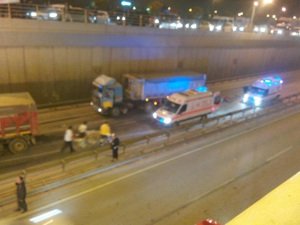 Ankara yolunda kaza 8