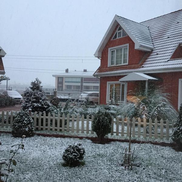 Konya'dan kar manzaraları 10
