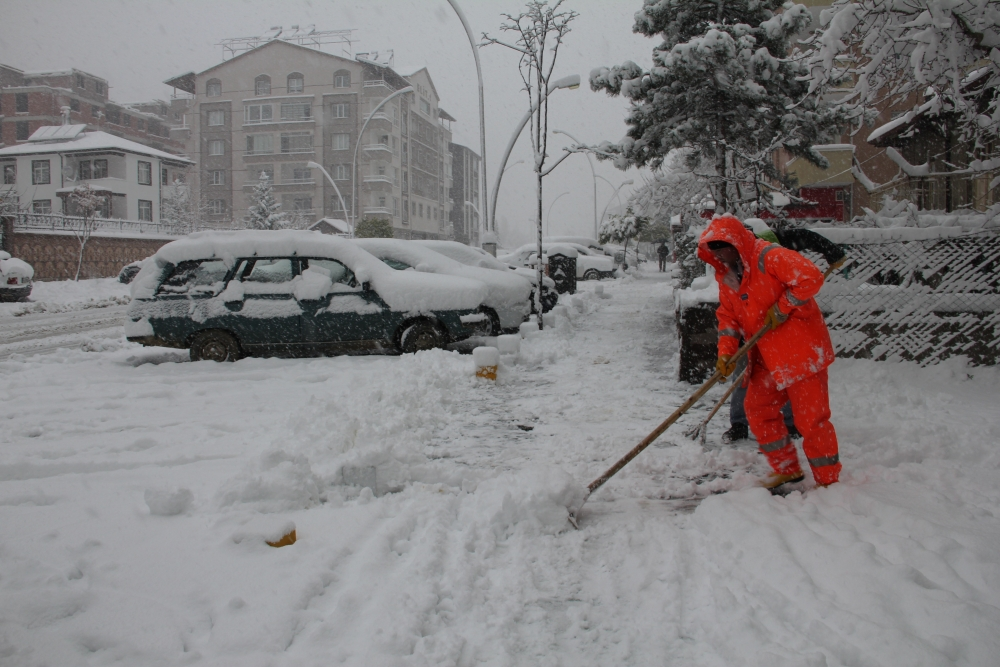 Konya'dan kar manzaraları 13