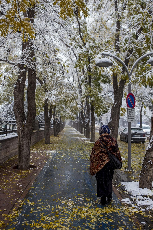 Konya'dan kar manzaraları 19