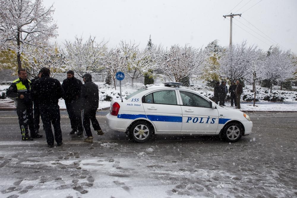 Konya'dan kar manzaraları 20