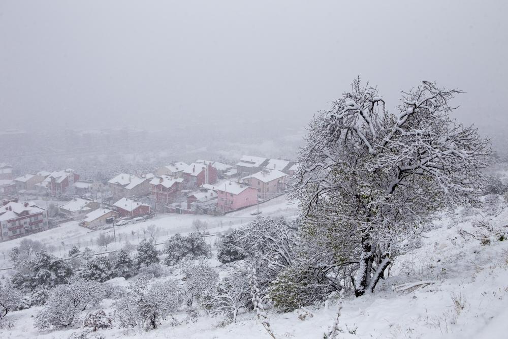 Konya'dan kar manzaraları 22