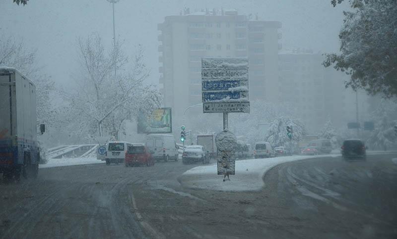 Konya'dan kar manzaraları 26