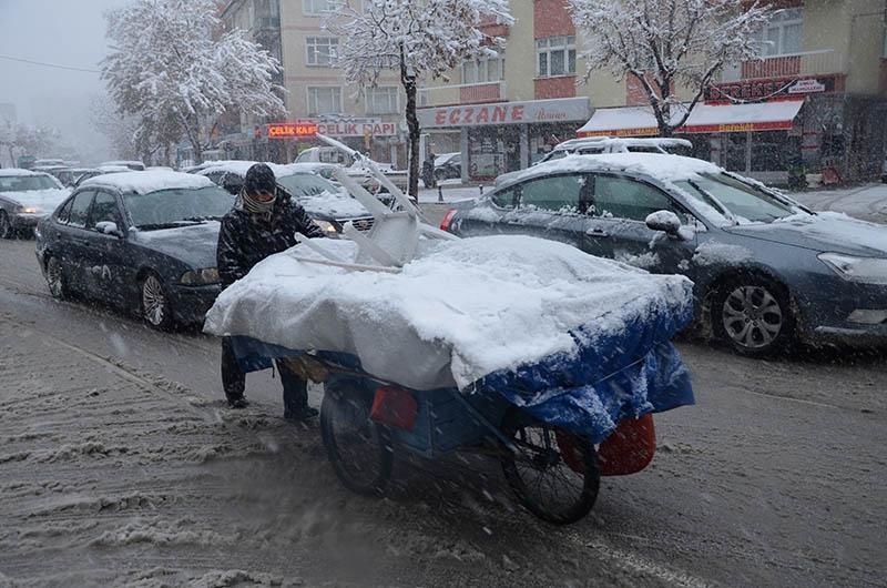 Konya'dan kar manzaraları 27