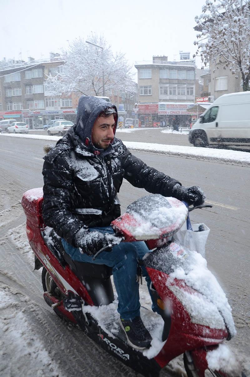 Konya'dan kar manzaraları 28