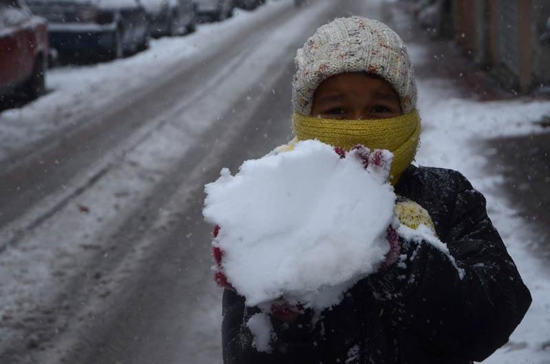 Konya'dan kar manzaraları 29