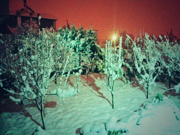 Konya'dan kar manzaraları 32