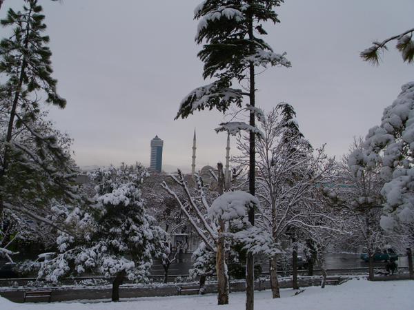 Konya'dan kar manzaraları 34