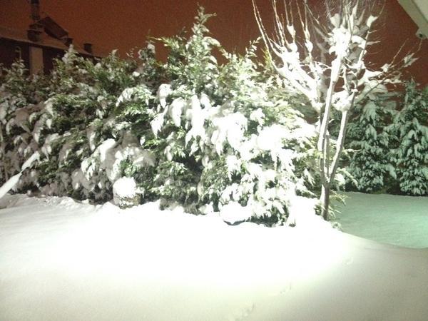 Konya'dan kar manzaraları 35