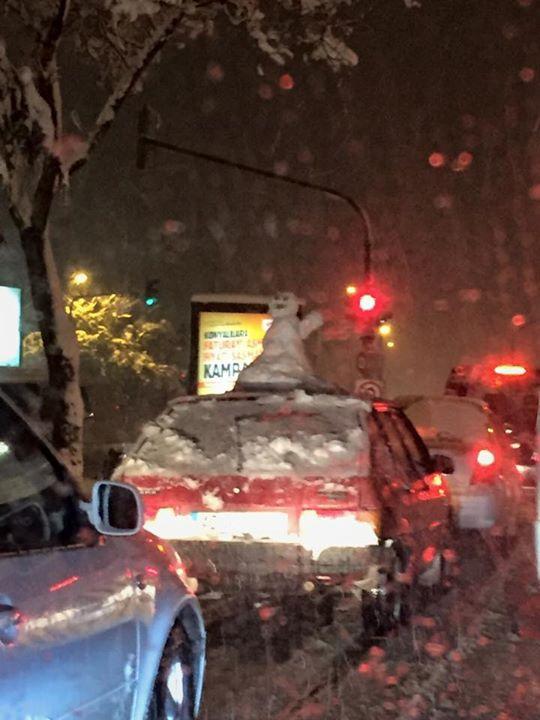 Konya'dan kar manzaraları 36