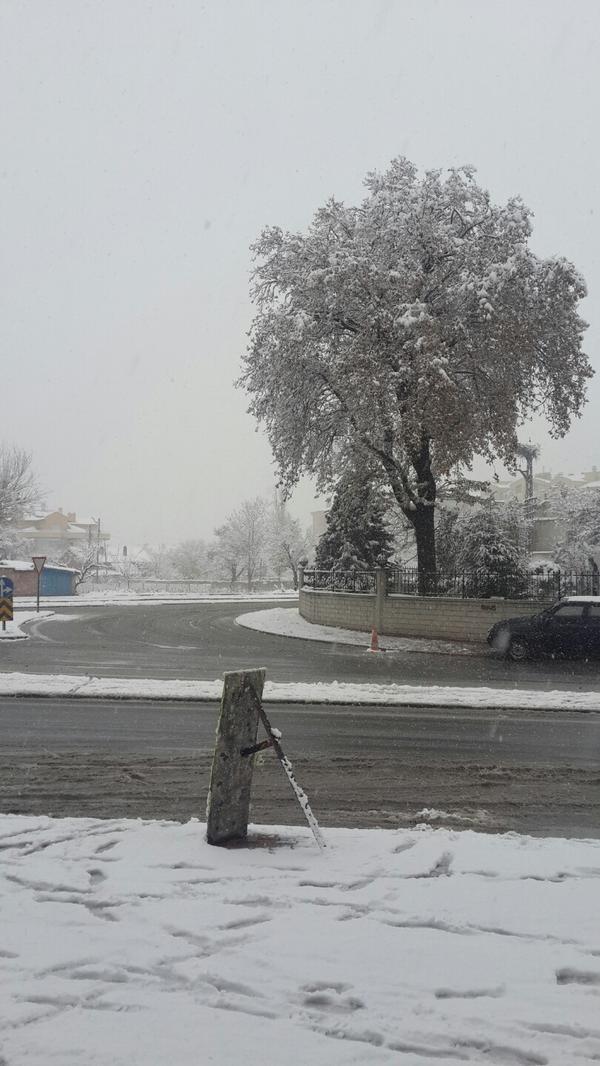Konya'dan kar manzaraları 4