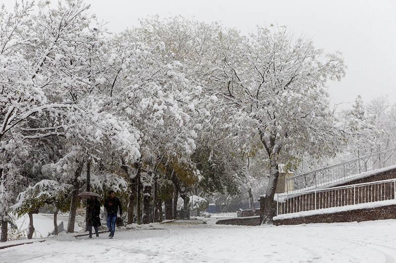 Konya'dan kar manzaraları 41