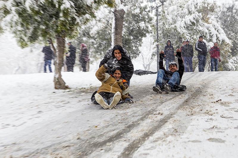 Konya'dan kar manzaraları 42