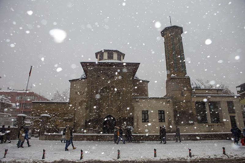 Konya'dan kar manzaraları 43