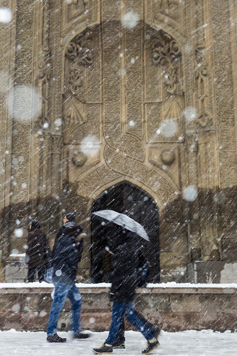 Konya'dan kar manzaraları 44