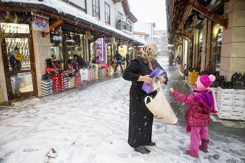 Konya'dan kar manzaraları 46