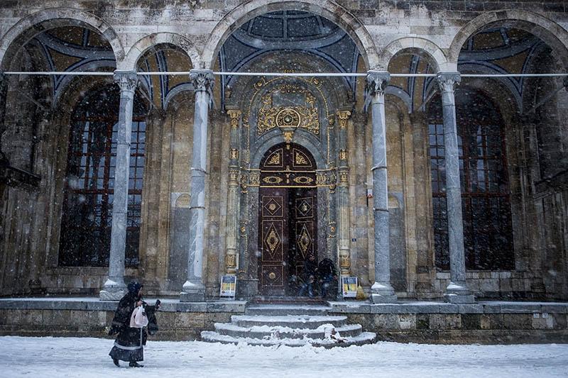 Konya'dan kar manzaraları 47